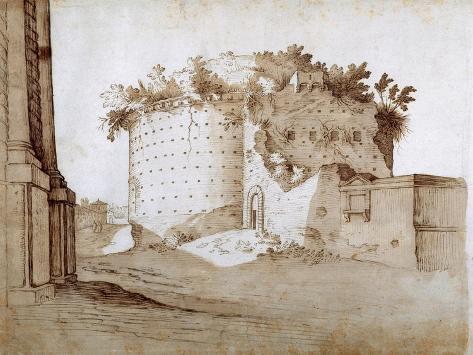 A Mausoleum Impressão giclée