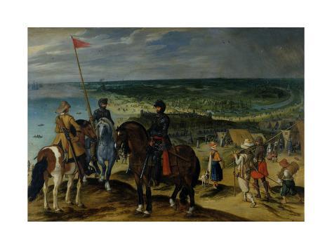 Battle Scene, 1601-15 Impressão giclée