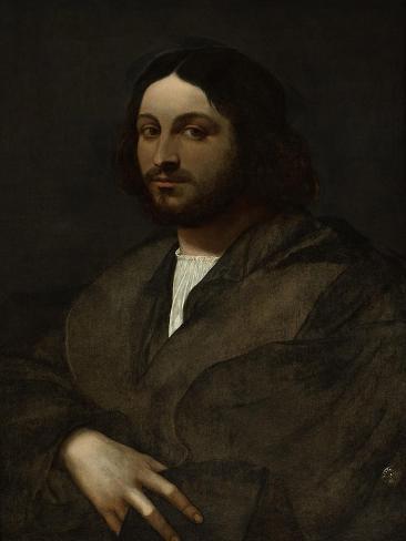 Portrait of a Man, C.1516-20 Giclee Print
