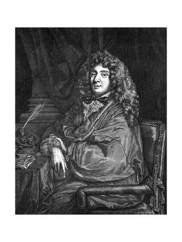 Moliere Seated Giclee Print