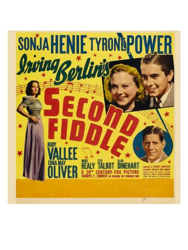 Second Fiddle, 1939 Photo