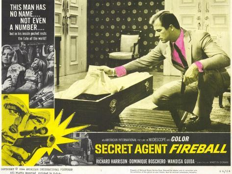Secret Agent Fireball, 1966 Art Print