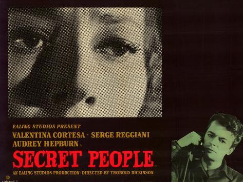 Secret People Lámina