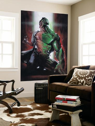Secret War No.4: Hulk, Banner and Bruce Laminated Oversized Art