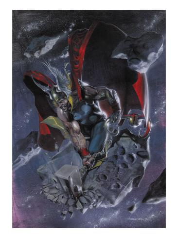 Secret War No.4: Thor Stretched Canvas Print