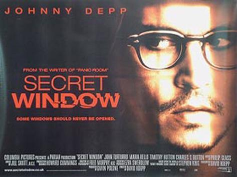 Secret Window Original Poster
