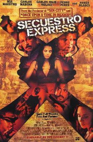 Secuestro Express Póster original