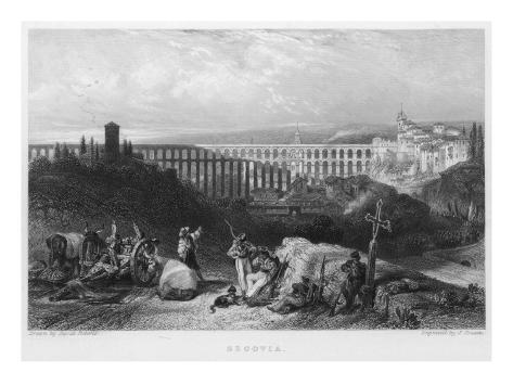 Segovia Aqueduct Giclee Print