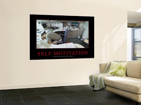 Self Motivation Giant Art Print