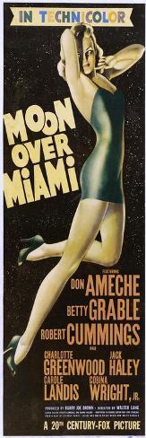 Semester i Miami Konstprint