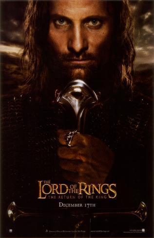Señor de los anillos: El retorno del rey, El Lámina maestra