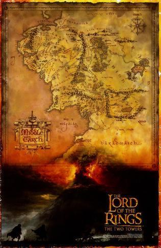 Señor de los anillos: Las dos torres, El Lámina maestra