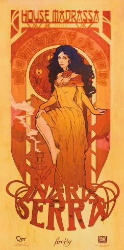 Serenity Movie Firefly Les Femmes Inara Serra Poster Print ミニポスター