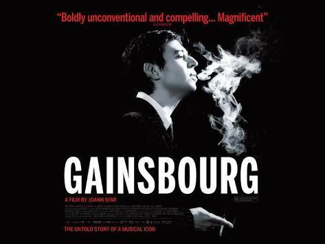 Serge Gainsbourg, vie heroique Poster