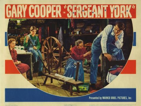 Sergeant York, 1941 Art Print