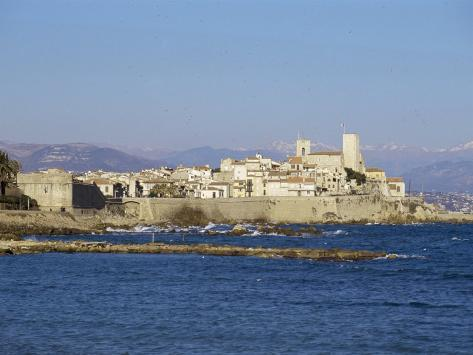 Antibes, Provence, Cote d'Azur, French Riviera, France, Mediterranean Photographic Print