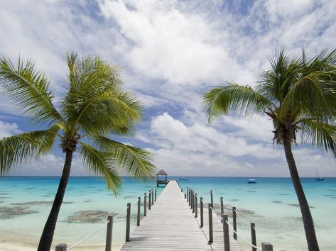 Fakarawa, Tuamotu Archipelago, French Polynesia Islands Photographic Print