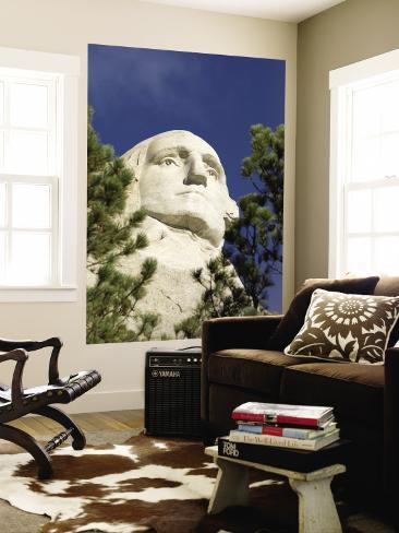 Mount Rushmore, Keystone, Black Hills, South Dakota, USA Wall Mural