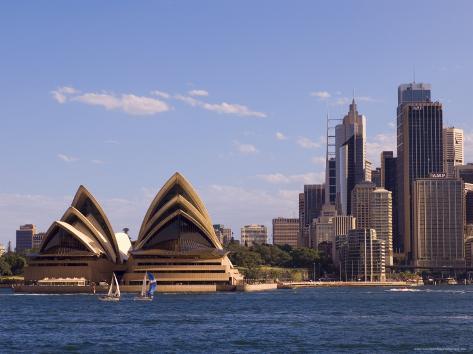 Opera House, Sydney, New South Wales, Australia Photographic Print