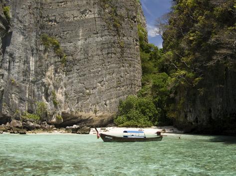Pileh Cove, Phi Phi Lay Island, Thailand, Southeast Asia Photographic Print
