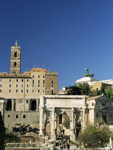 Roman Forum, Unesco World Heritage Site, Rome, Lazio, Italy Photographic Print