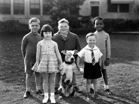 serie televisee les petites canailles little rascals c 1930 photo