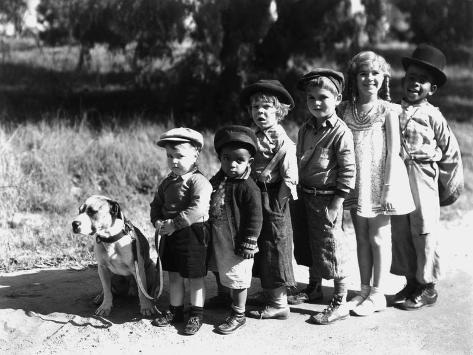 Serie Televisee Les Petites Canailles the Little Rascals, 1933 Photo