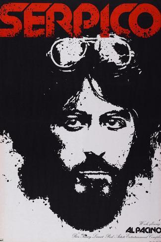 Serpico, Al Pacino, 1973 Art Print