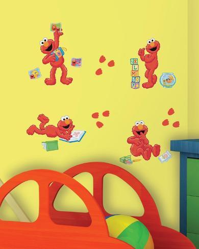 Sesame Street - Elmo-Centric Peel & Stick Wall Decals Wall Decal