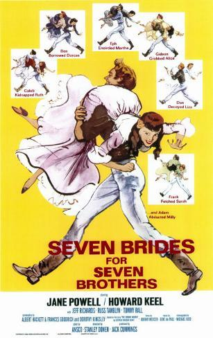 Seven Brides for Seven Brothers Masterprint