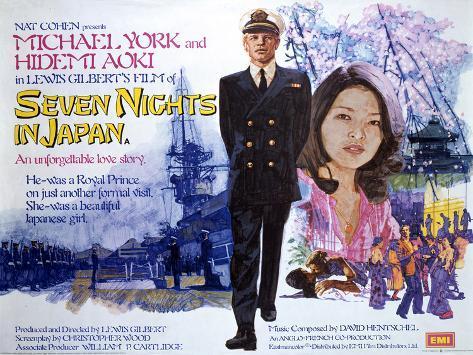 Seven Nights in Japan Art Print