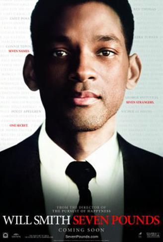 Seven Pounds Double-sided poster