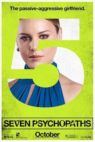 Seven Psychopaths Movie Poster Masterprint