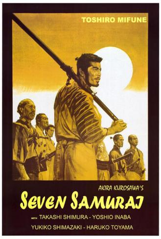 Seven Samurai - Italian Style Poster