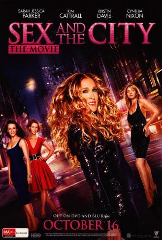 Sex and The City: The Movie - Australian Style Poster