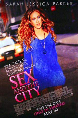 Sex And The City: The Movie Double-sided poster