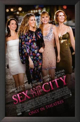 Sex and The City: The Movie Impressão artística emoldurada