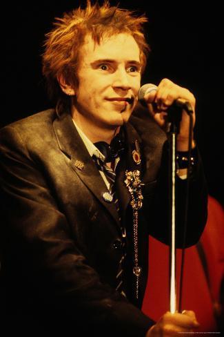 Sex Pistols - Johnny Rotten Poster