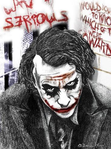Joker Giclee Print