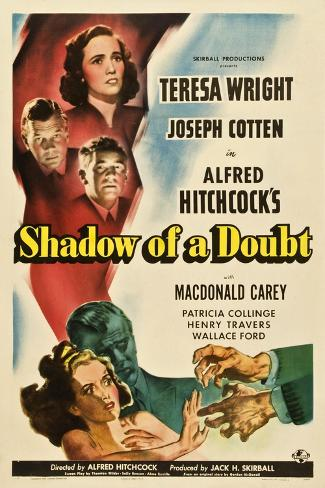 Shadow of a Doubt, 1943, Directed by Alfred Hitchcock Giclee Print
