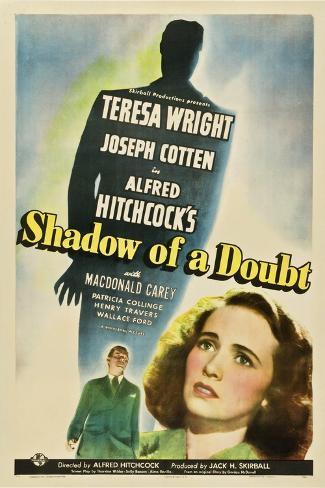 Shadow of a Doubt 1943 Gicléetryck