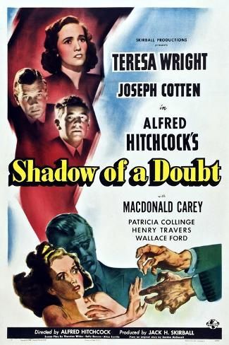 Shadow of a Doubt Art Print