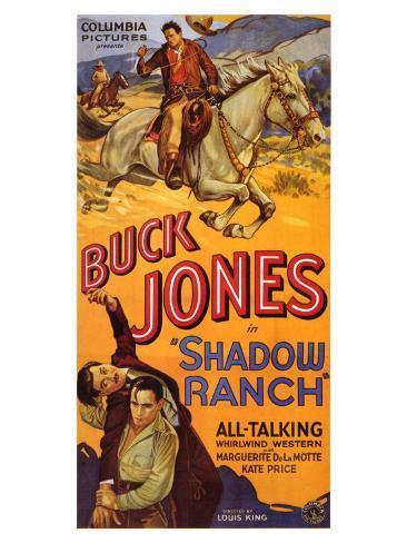 Shadow Ranch, 1930 Art Print