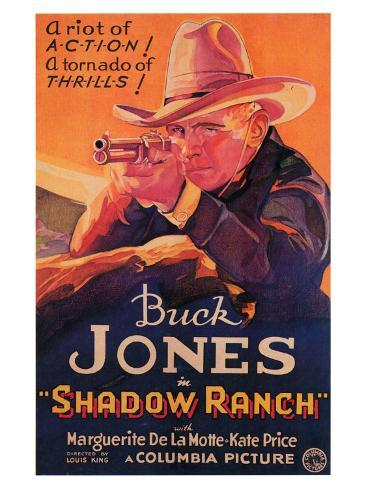 Shadow Ranch, 1930 Konstprint