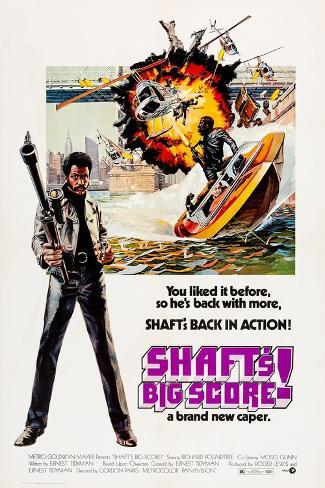 Shaft's Big Score! Art Print
