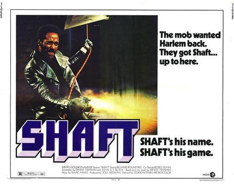 Shaft -  Style Poster