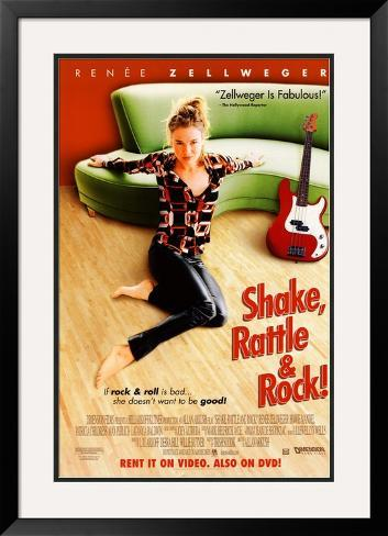 Shake, Rattle And Rock Pôster emoldurado