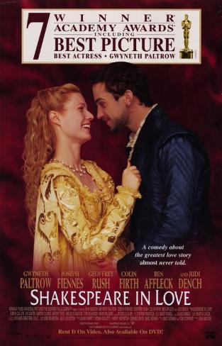Shakespeare in Love Masterprint