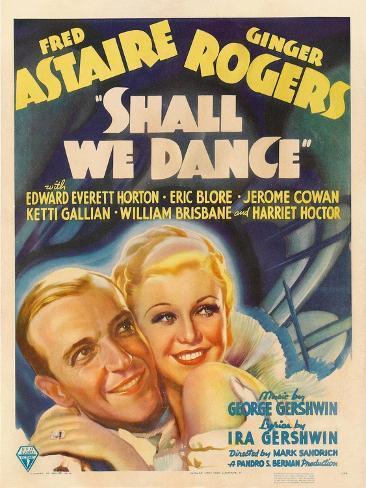 Shall We Dance, 1937 Gicléetryck