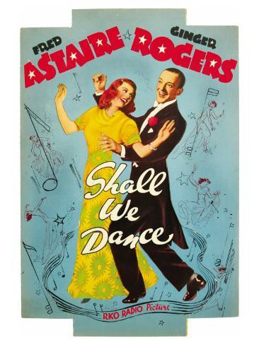 Shall We Dance, 1937 Art Print